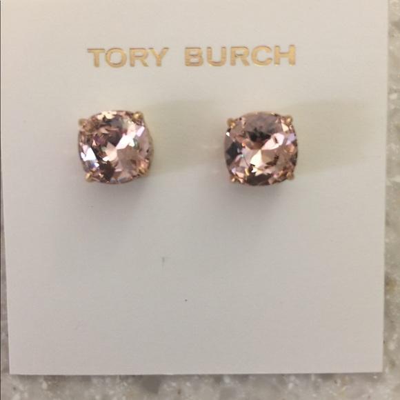 f549cc134 Tory Burch Jewelry | Nwt Crystal Stud Earrings | Poshmark